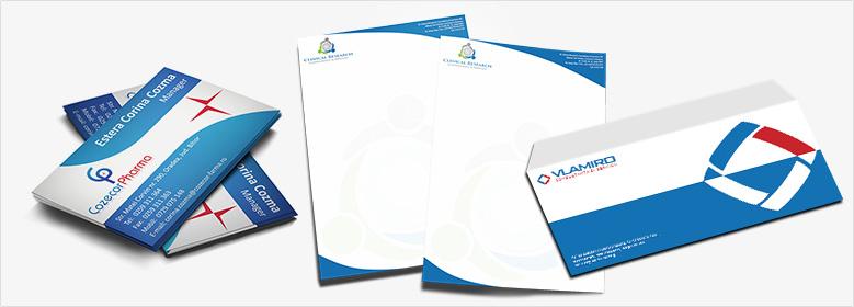 Exemple portofoliu pachet Stationery