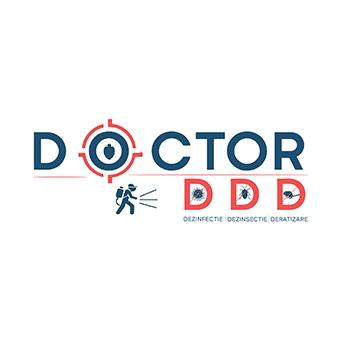 Design logo firma deratizare - Dr. DDD
