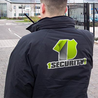 Design personalizare echipament de lucru - companie de securitate  1Security