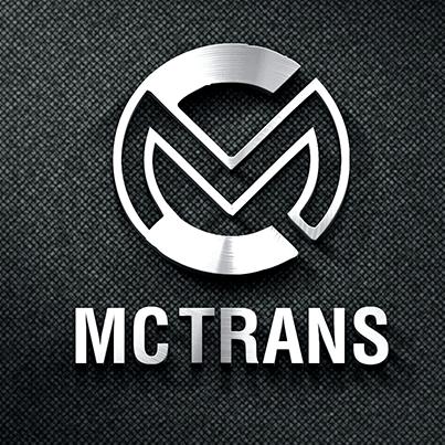 Concept Design Logo 3D realizat pentru compania de transporturi rutiere MC TRANS