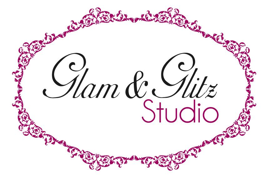 Design logo studio coafura cosmetica - Glam & Glitz