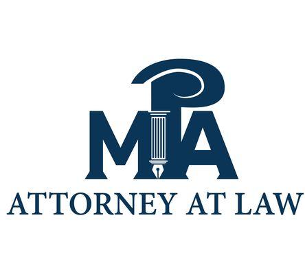 Design logo cabinet avocatura - MPA Attorney At Law