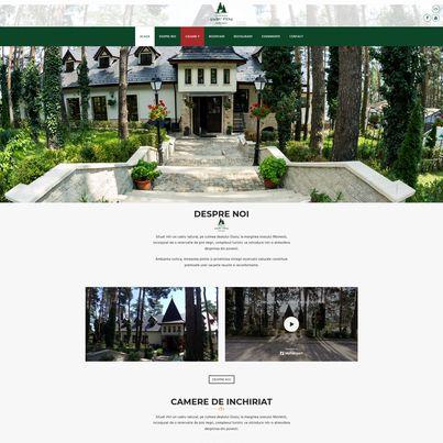 Design site web complex turistic - Parc Pini Moinesti