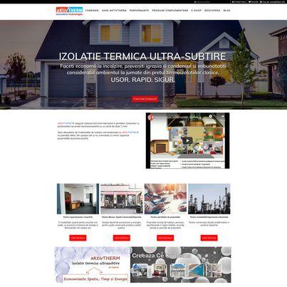 Design magazin online materiale termoizolante - AKTIVTHERM