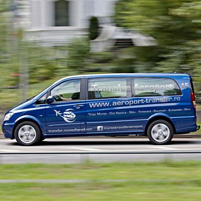 Realizare design colantare auto firma transport persoane - Niraj Prodcom