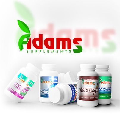 Design ambalaj Adams Supplements