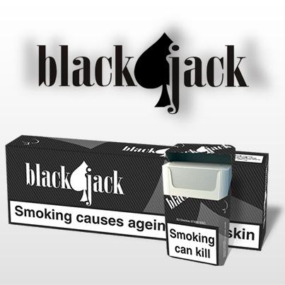 Design Ambalaj Tigari Blackjack