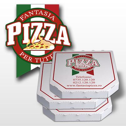 Design ambalaj - Fantasia Pizza