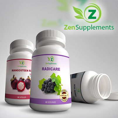 Design ambalaj Zen Supplements
