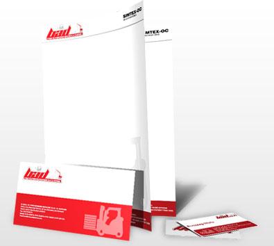 Design identitate companie - BAD