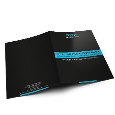 Design brosura furnizor sisteme automatizari industriale - Bit Automatizari