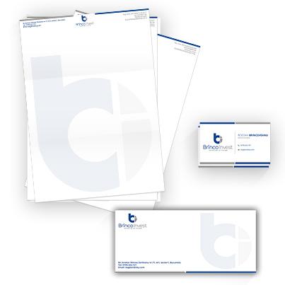 Design identitate companie dezvoltator imobiliar - Brinco Invest