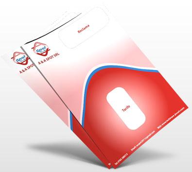 Design brosura firma A&A Sport