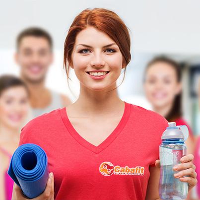 Design personalizare tricou - Sala fitness Cabafit