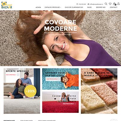 Design magazin online vanzari covoare - Carpet Bazaar