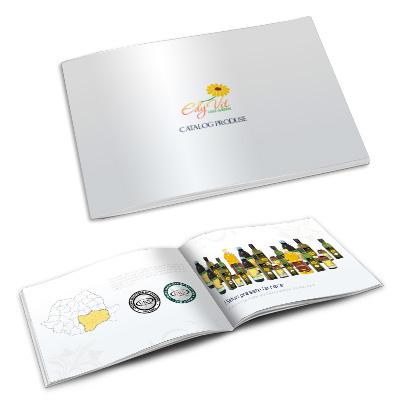 Design catalog produse producator uleiuri presate la rece - Edy Vit