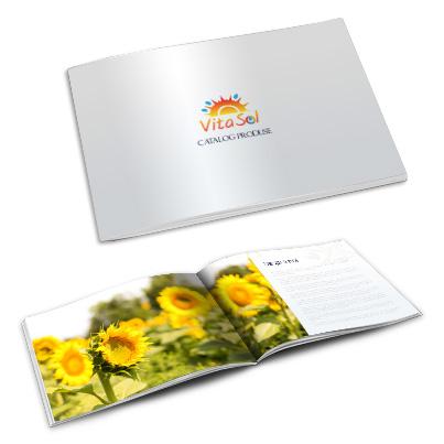 Design catalog produse comerciant seminte si fulgi cereale - Vita Sol
