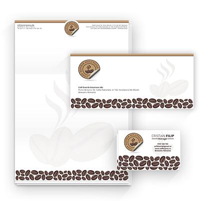 Design identitate companie Coff Distrib Solutions - distribuitor cafea