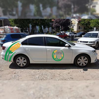 Design colantare auto firma achizitii cereale - Complet Agria Serv