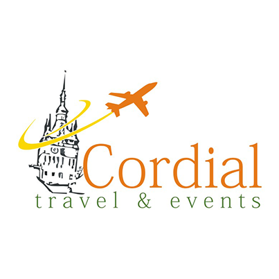 Creare logo agentie turism Cordial Travel & Events