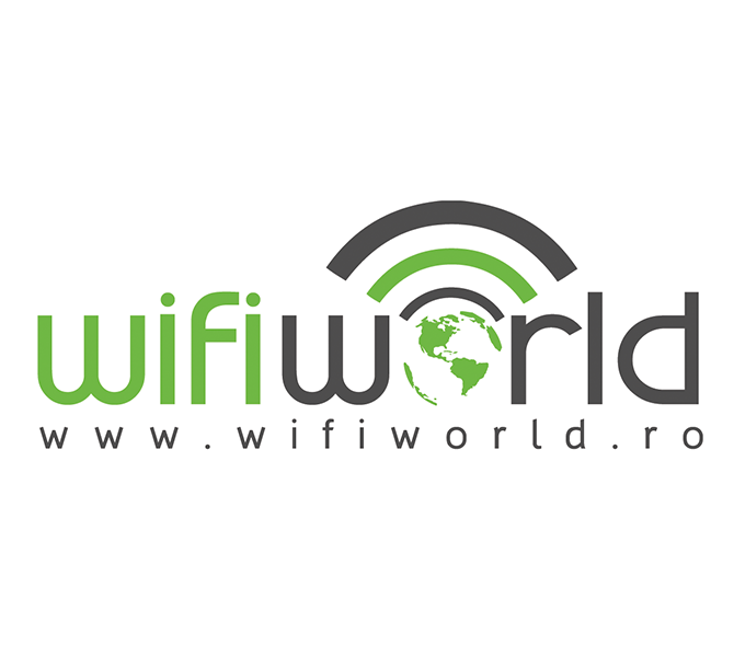 Creare logo firma furnizor internet – Wifi World