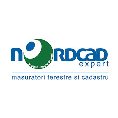 Creare logo Nordcad Expert masuratori terestre si cadastru