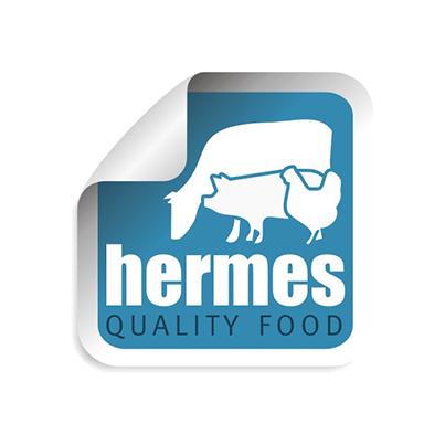 Creare sigla distribuitor carne congelata Hermes Quality Food