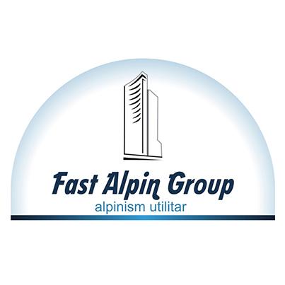 Design emblema firma alpinism utilitar Fast Alpin Group