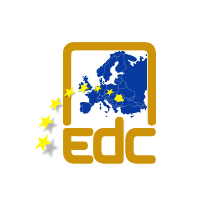 Design emblema firma EDC
