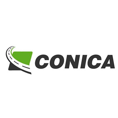 Design emblema firma inspectii tehnice periodice Conica
