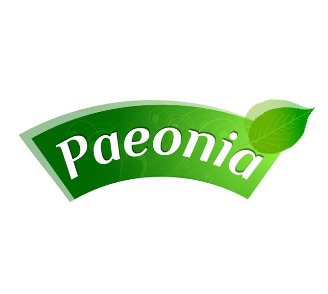 Design emblema producator suplimente naturale – Paeonia