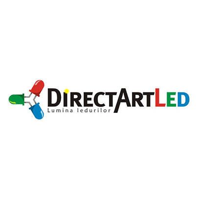 Design logo agentie publicitate Direct Art Led