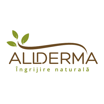 Allderma - design logo