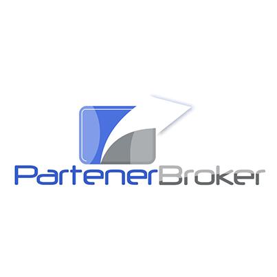 Design Logo broker asigurari Partener Broker