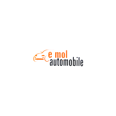 Design logo comerciant automobile E Mol Automobile