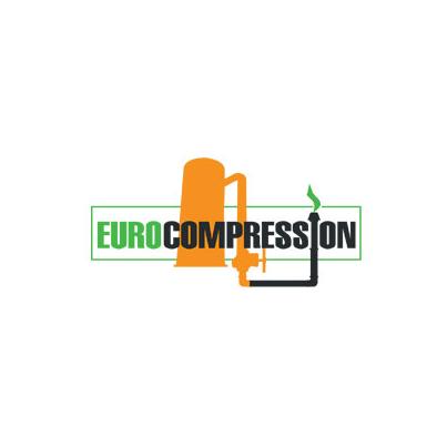 Design logo comerciant componente industriale – Euro Compression