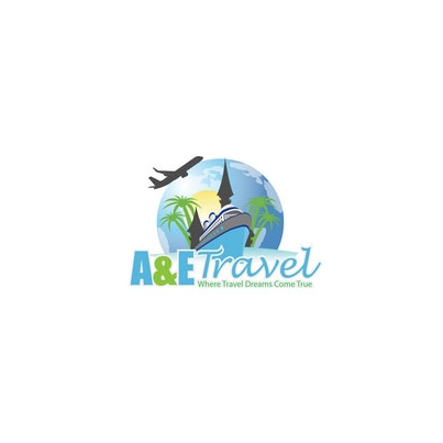 Design logo firma A&E Travel