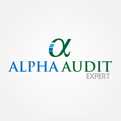 Design logo firma Alpha Audit Expert