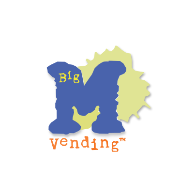 Design logo firma Big M Vending