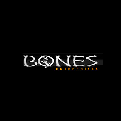 Design logo firma Bones Enterprises