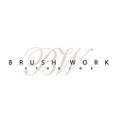 Design logo firma Brush Work Studios