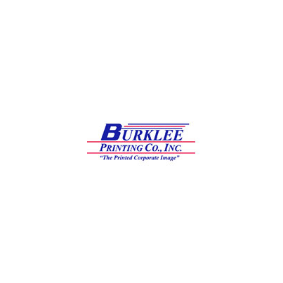 Design logo firma Burklee Printing Co. Inc.