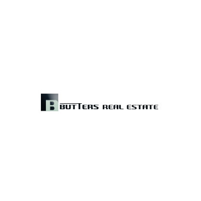 Design logo firma Butters Real Estate