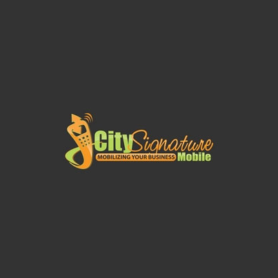 Design logo firma City Signature Mobile