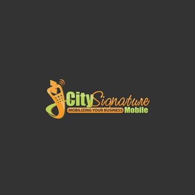Design logo firma City Signature Mobile