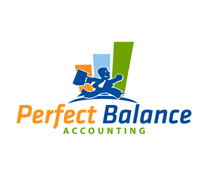Design logo firma contabilitate Perfect Balance Accounting