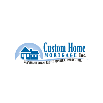 Design logo firma Custom Home Mortgage inc.