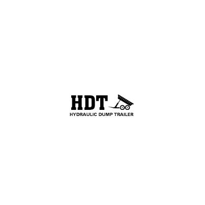 Design logo firma HDT Hydraulic Dump Trailer