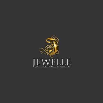 Design logo firma Jewelle Cosmetics, Apparel, Jewelry, Art
