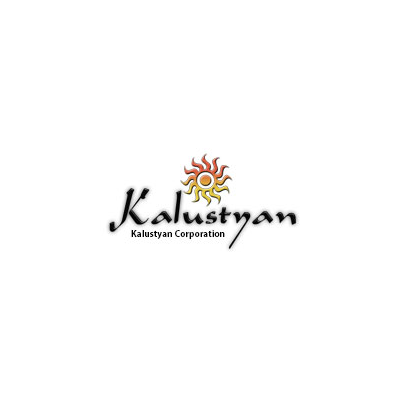 Design logo firma Kalustyan Corporation